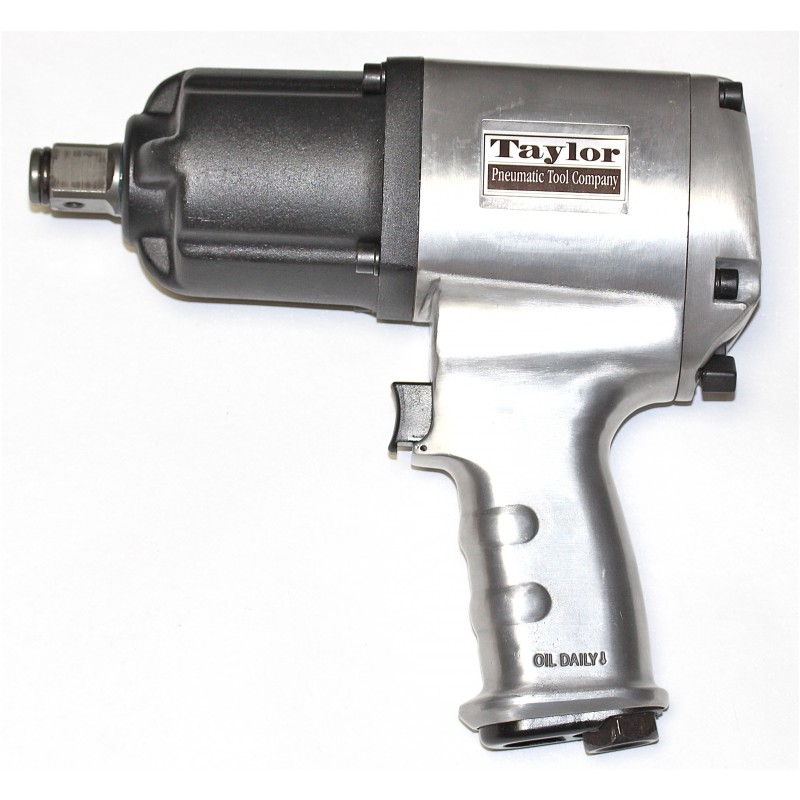"""Taylor 6 Series 3/4"""" Super Duty Pistol Grip Impact Wrench with extended anvil, 1200 ft.lb.,  T-6775L"""
